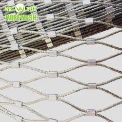 316 het Netwerk van de Kabel van de Vorm van de Diamant van de Draad van het roestvrij staal voor Bescherming