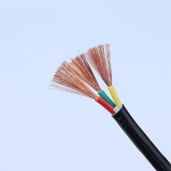 H05VV-F/H03VV-F 0.75mm 1.0mm 1.5mm 2.5mm PVC 절연 플렉시블 전기 와이어 케이블