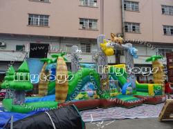 PVC Inflatable petit château gonflable Bouncer pour Bouncer Amusement Park