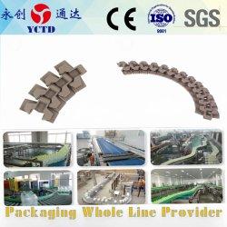 Förderanlage verwendet für den Produktionszweig, der modularem Plastikförderband der Verpackungsindustrie des Flaschenkartonkastens übermittelt