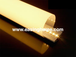 Alto Brilho Semi tubo redondo levou o perfil de alumínio de alumínio para Pendant/Luz de Teto