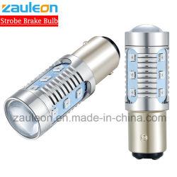 S25 1157 P21/5W стробоскопической лампы красный светодиод мигает лампа заднего тормоза