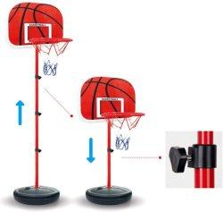 Cerchio di pallacanestro portatile registrabile di altezza all'ingrosso del basamento