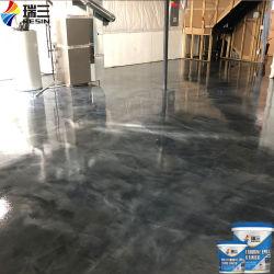 Os fabricantes da China Resina pintura Epoxi externa epóxi metálico de revestimento de piso