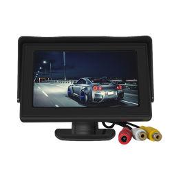 Camera van de Monitor van de Mening van de auto de AchterMonitor van de Spiegel van de Auto van 4.3 Duim de Omgekeerde
