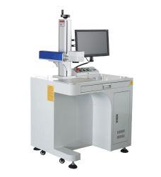 Faser-Laser-Markierungs-Maschinen-Markierung auf Autoteil-Handy-Fall-Ring-Abzeichen-Aufladeeinheit