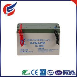 Низкий заряд на 12V 200Ah гель солнечной батареи
