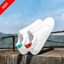 2019 Commerce de gros de la mode des chaussures de loisir Dame blanche de chaussures Chaussures femmes décontractées toile