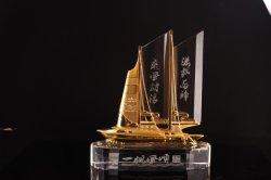 水晶船の記念品及びイスラム教の水晶装飾