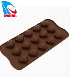 特別な形のシリコーンのシェルチョコレート型、シリコーンのコンシュのケーキ型
