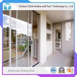 Управление используется простая Конструкция двойного стекла алюминиевые раздвижные двери