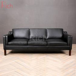 Домашняя мебель и кожаные PU диван в гостиной Мебели 3 СИДЕНЬЯ