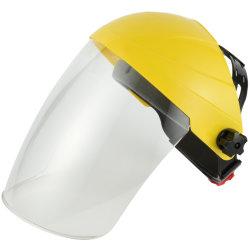 Visiera protettiva registrabile termoresistente del casco di sicurezza di Reuseable della spruzzata chimica di usura con la visiera del PC