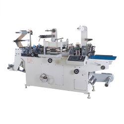 粘着ラベル用の平面ベッドダイカット・ホットスタンプ印刷機