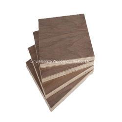 Professional Black Walnut Burl Chapa de madera La madera contrachapada