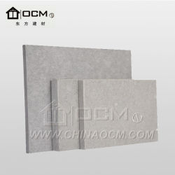 Scheda nera del cemento della fibra per la parete esterna