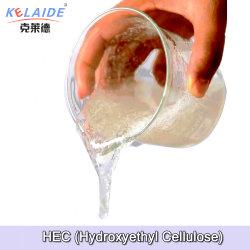 Cellulose HEC van de Deklaag van het Bindmiddel HEC van de Verf van het latex Detergent Kosmetische Hydroxyethyl