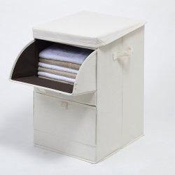習慣のカバーオルガナイザー3の引出しのディバイダセットが付いている便利な多層収納箱