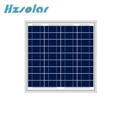 Couper les cellules Cusetimised 36 panneaux solaires polycristallins 5W 10W 20W 30W 40W 50W 60W 80W 100W 120W 150W
