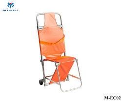 M-Ec02 de lichtgewichtBrancard van de Stoel van de Trede van de Legering van het Aluminium van de Ziekenwagen