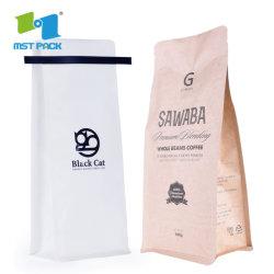 Koffieprintset Met Aangepast Kraftpapier