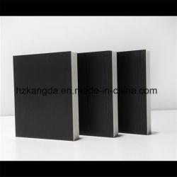 Junta de laminado PVC mmx24401220mmx18mm Madera color negro de la densidad de 0,55