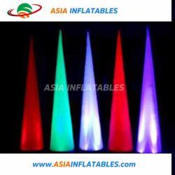 مخروط الإضاءة القابل للانتفاخ / عمود الإضاءة القابل للانتفاخ قائم LED كلوري