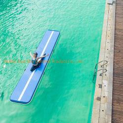 Vía aire baratos gimnasia alfombrilla alfombrilla para el hogar de aire inflables pista para gimnasio