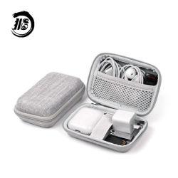Ronde étanches Mini disque dur EVA Pochette de voyage sac de boîte d'emballage pour écouteurs