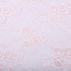 O poliéster e náilon Two-Colors Lace tecido Jacquard