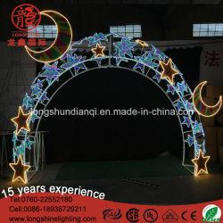 LED Star colorés Grande Arche de Noël d'éclairage décoratif de plein air