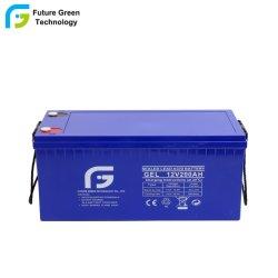 سعر الموزع 12 فولت 200 أمبير في الساعة بطارية Gel Solar Battery Gel