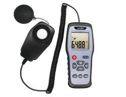 データ自動記録器Ld8911Aが付いている携帯用ライトメーターのルクスのメートル