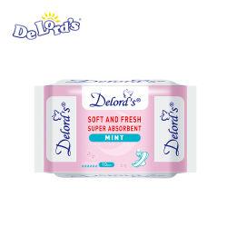 Une absorption élevée SAP en papier jetables sèche serviette hygiénique