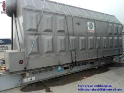Caldaia a vapore della biomassa del carbone della griglia della catena del tubo dell'acqua dello SZL