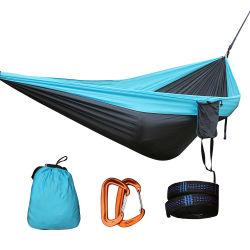 Commerce de gros 2 personne à l'extérieur en nylon de loisirs des hamacs Hamac de couchage de Camping