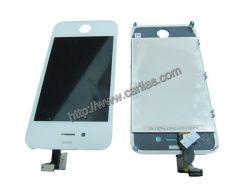 Pour iPhone 4 4G LCD tactile avec bouton d'accueil d'assemblage du couvercle arrière