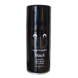 El color de pelo en Spray para perro (negro)
