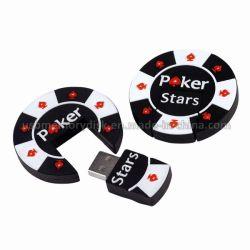 Смешной мультфильм Poker Chip USB флэш-диск (КТ-010)