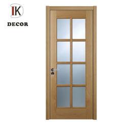 Holz gestaltet mit Glaspanel-Entwurfs-Innentür