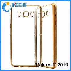 Großhandelsnagelneue galvanisieren TPU Kasten für Galaxie J7 (2016)