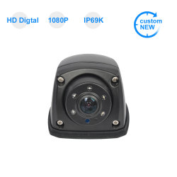 720p Night Vision Car Bus Truck 차량 사이드 리버스 리뷰 Van RV 트레일러용 카메라