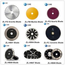 Zlion 다이아몬드 원형 악대 기계는 돌 화강암을%s 톱날이 석영 구체적인 도기 타일 목제 금속 스테인리스 멜라민 합판 제품 지면 절단을 대리석 무늬를 넣을 것을