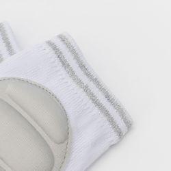 這う保護膝パッドの無地のための反スリップの赤ん坊の膝パッドは肘の膝パッドをからかう