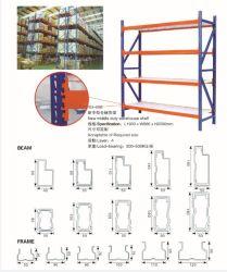 De nouveaux droits de douane du milieu de l'entrepôt de stockage de pneus Pipe métal Rack