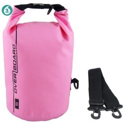 Дешевые поощрения 500d ПВХ брезент розового цвета Ultralight спуск на плотах мешок водонепроницаемый мешок сухих