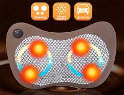 Electric Mini Utilisation de la voiture la chaleur infrarouge de massage Shiatsu oreiller de cou