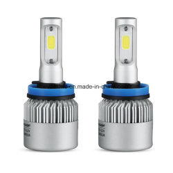 COB LED Car Light S2 H11 72W LED phare 8000lm LED tête lampe avec 6500k LED Ampoule