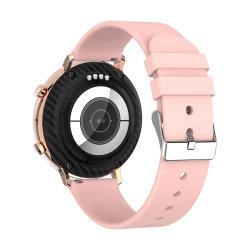 GOHGANDH Watch 2021 G33BT Call Smart Watch IP68 방수 전체 터치 스크린 ECG 혈압 로즈 골드 스마트워치 스마트폰