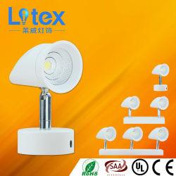 3W 9W 14W Pkw Aluminum LED COB Wall Light (LX808/9W)